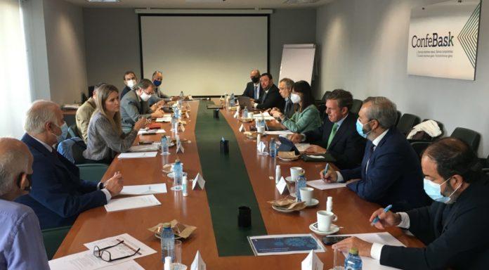 Confebask analiza con Industria y Energía las opciones de las empresas vascas