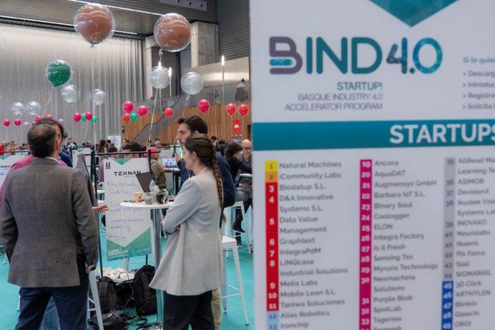 La plataforma vasca BIND 4.0, finalista de los Premios Europeos a la Promoción Empresarial