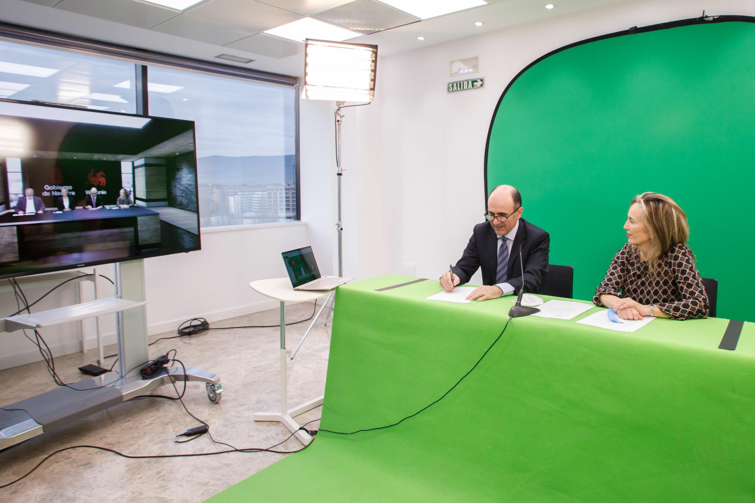Sodena y el fondo belga Wallimage firman un memorando de colaboración para impulsar la industria audiovisual 1