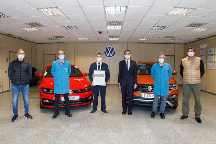 Un aprendiz de Volkswagen Navarra, entre los mejores del Grupo en el mundo