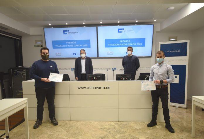 La Cátedra Industria 4.0 entrega los premios a los mejores trabajos Fin de Grado