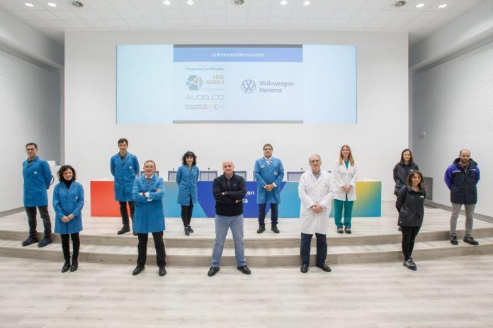 Volkswagen Navarra obtiene la certificación ISO 45001 en Seguridad y Salud en el Trabajo