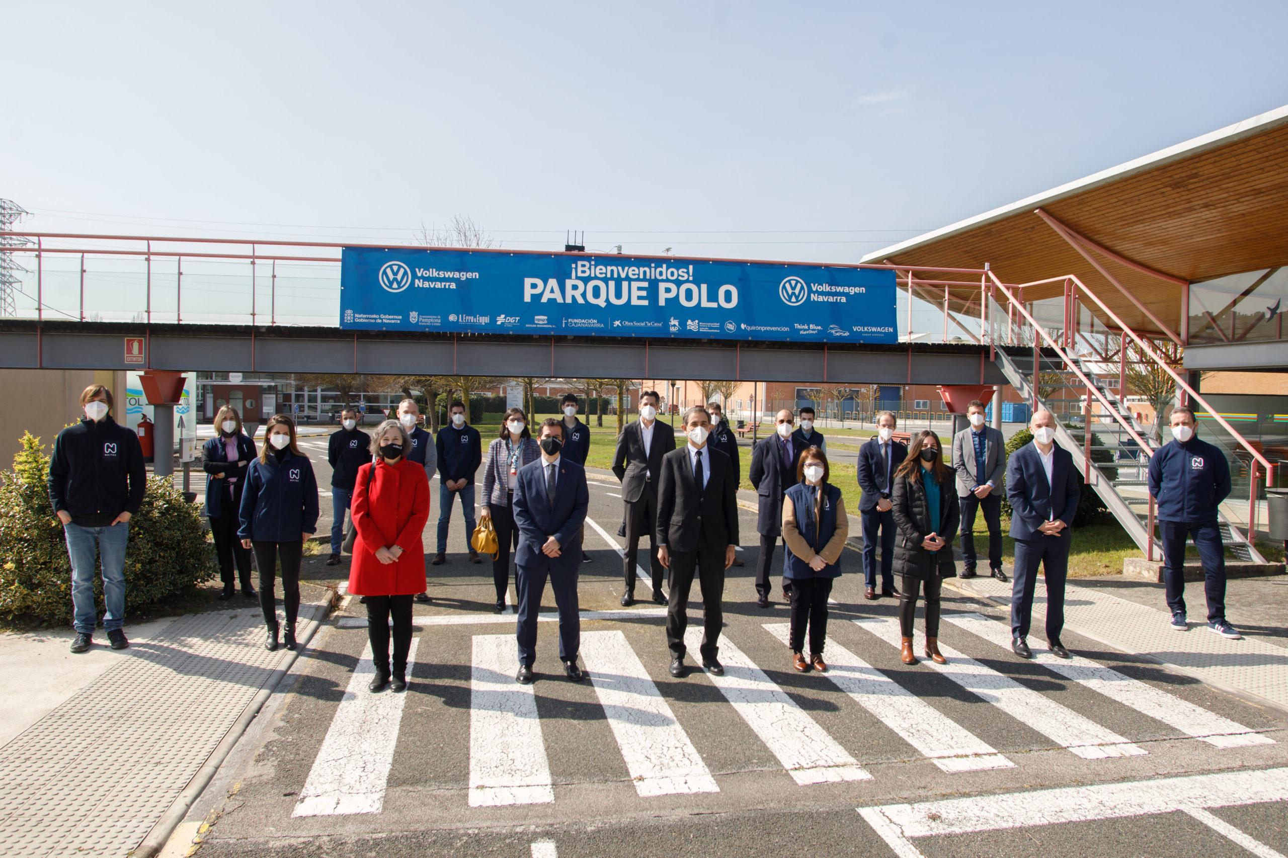 El Gobierno de Navarra asiste al testeo de tecnologias aplicadas a la movilidad y desarrolladas por NAITEC 2