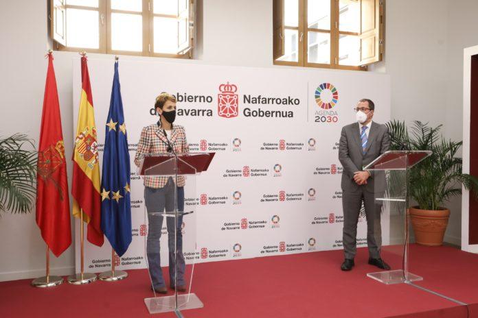 Chivite destaca la buena posicion de Navarra para acceder a los fondos Next Generation y el secretario general de Industria que tiene opciones de una amplia representacion en ellos (1)