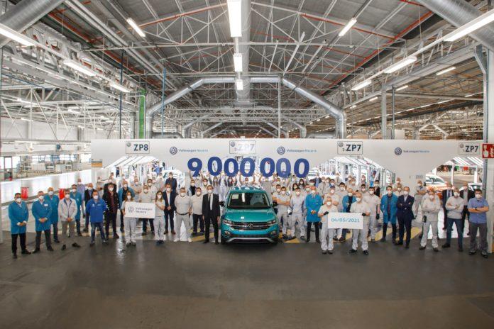 Volkswagen Navarra fabrica su coche 9 millones