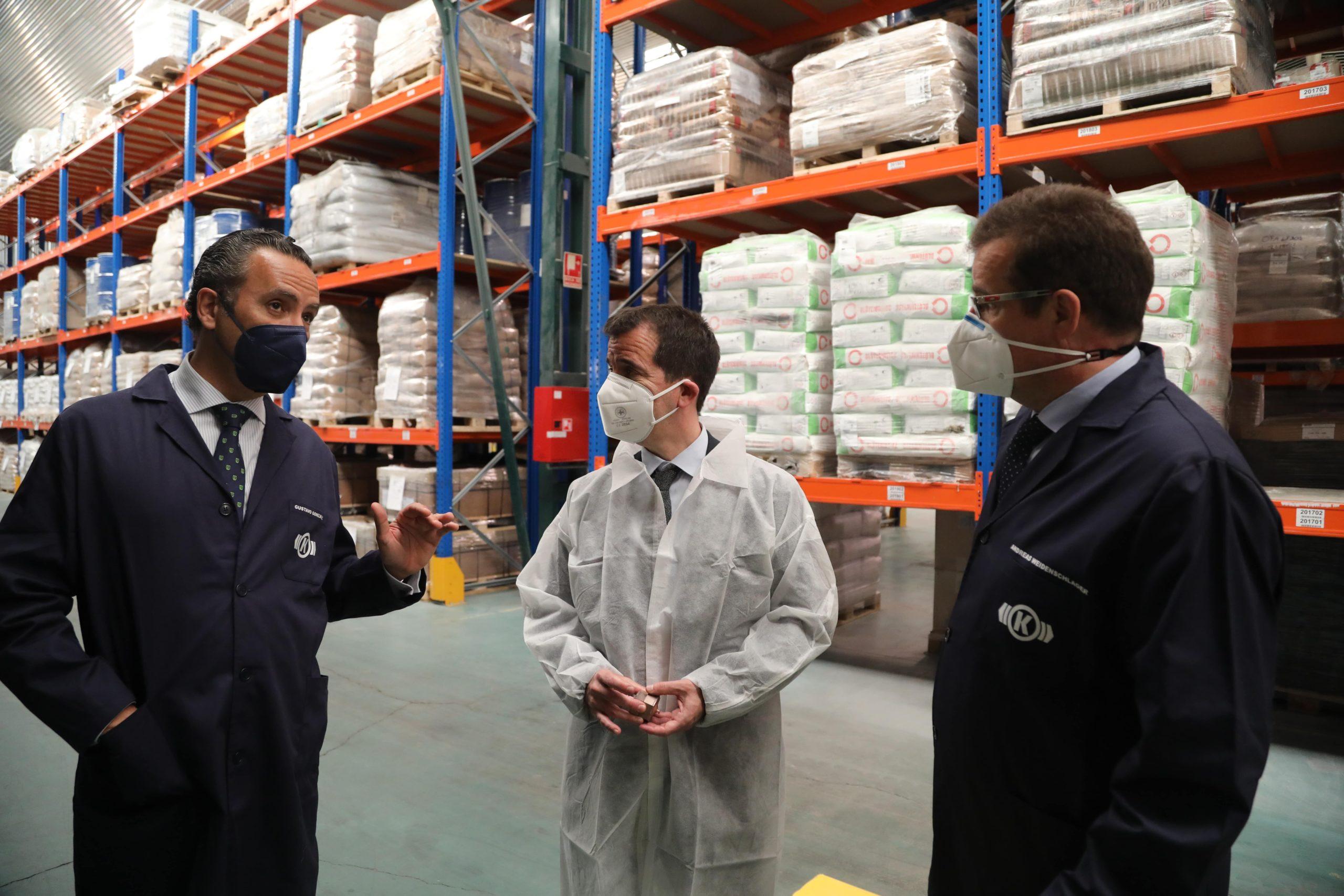 El consejero Irujo visita Knorr-Bremse, una empresa con un proyecto de inversion de 50 millones declarado de interes foral 1