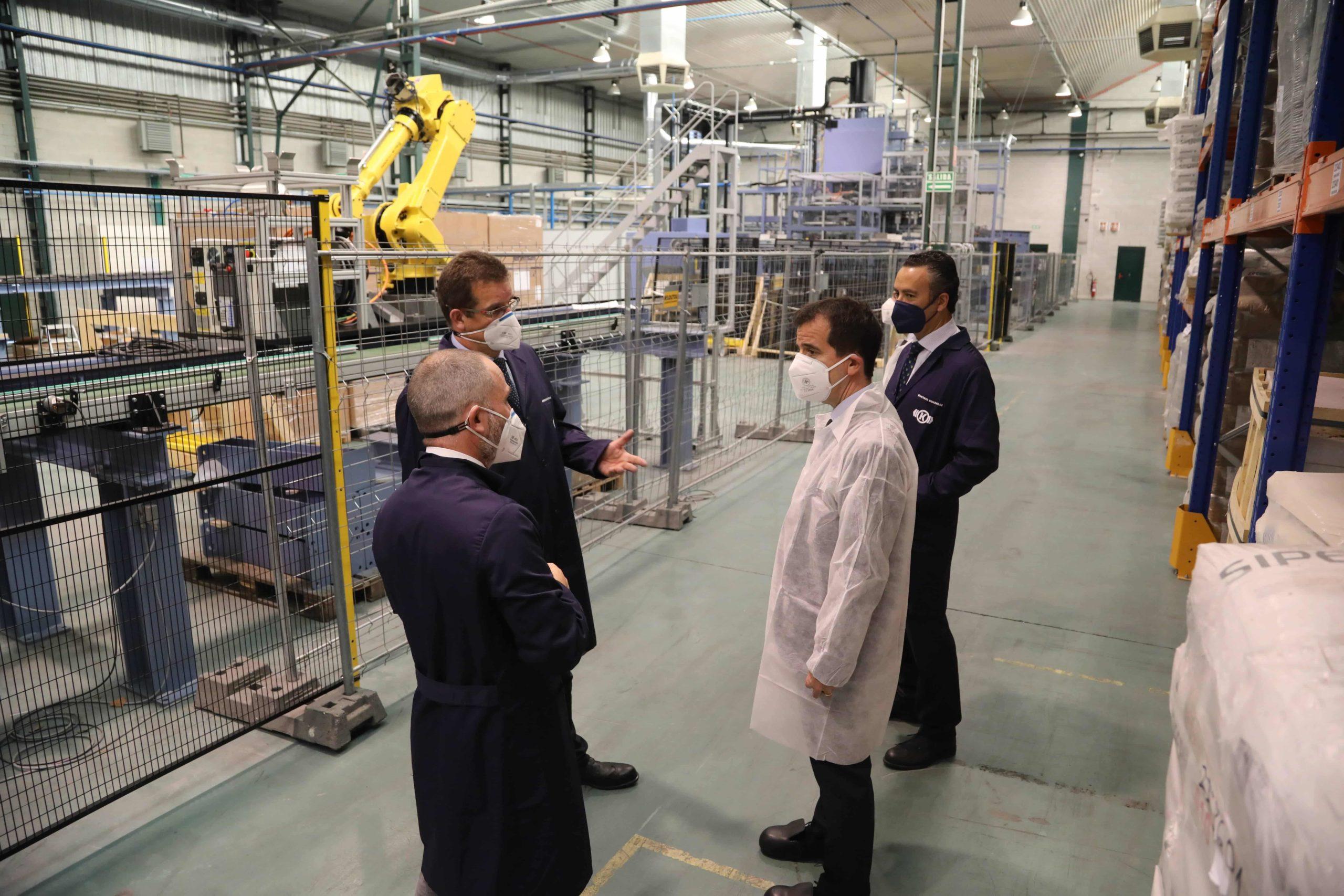 El consejero Irujo visita Knorr-Bremse, una empresa con un proyecto de inversion de 50 millones declarado de interes foral 2