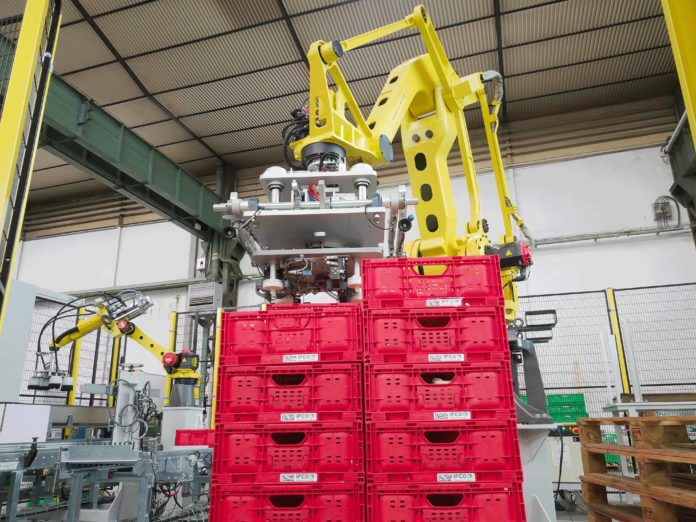 Robotica colaborativa para impulsar las tecnologias 4.0 en la industria alimentaria
