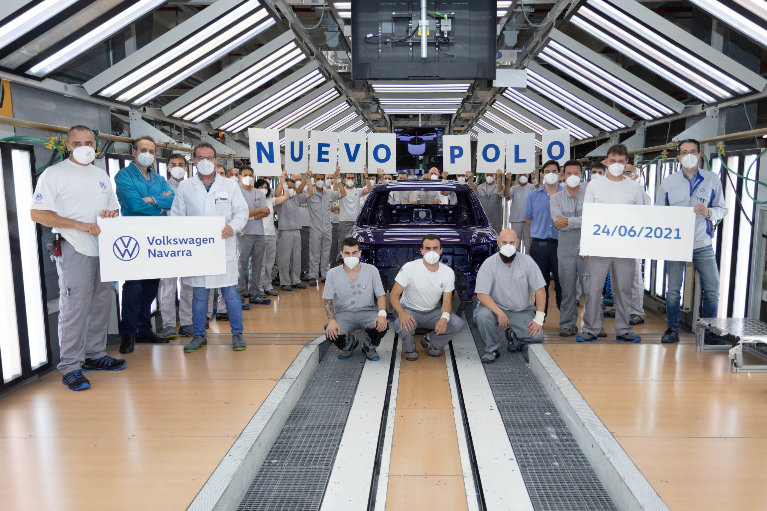 Volkswagen Navarra comienza la produccion en serie del nuevo Polo 2