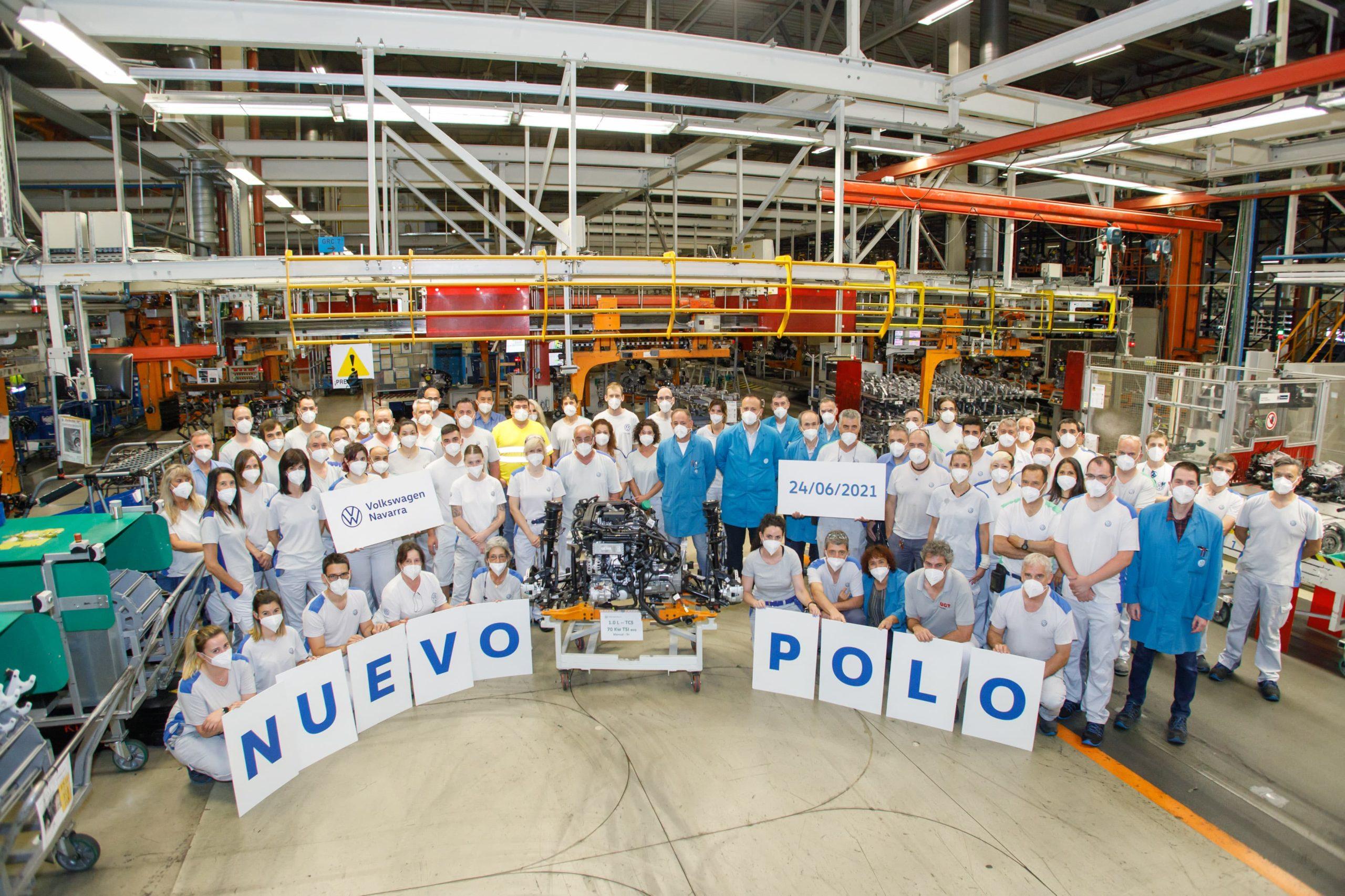 Volkswagen Navarra comienza la produccion en serie del nuevo Polo 3 (1)