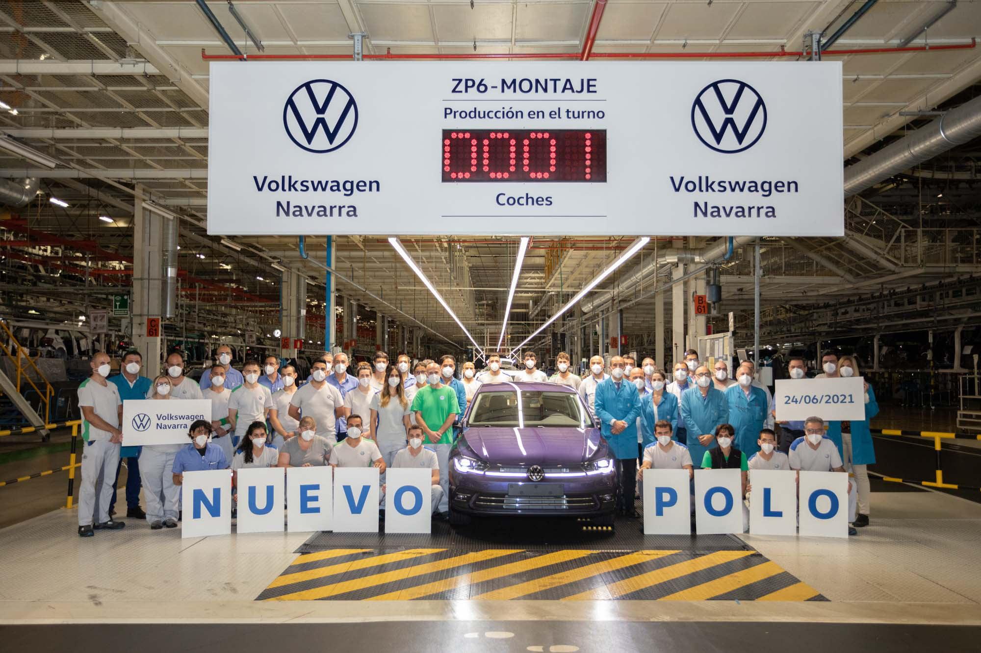 Volkswagen Navarra comienza la produccion en serie del nuevo Polo 4