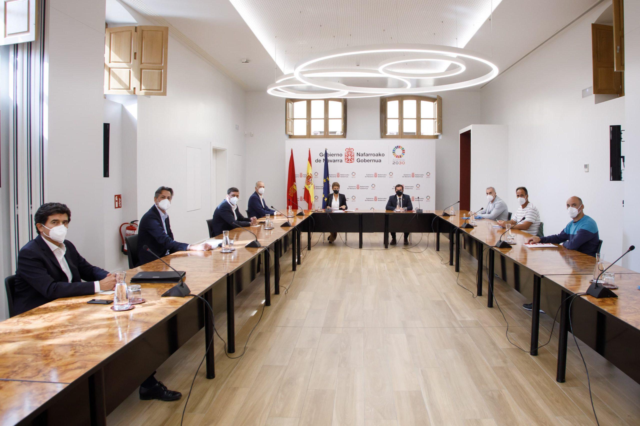 Gobierno, comite y Volkswagen Navarra comparten objetivos comunes de cara al futuro 1