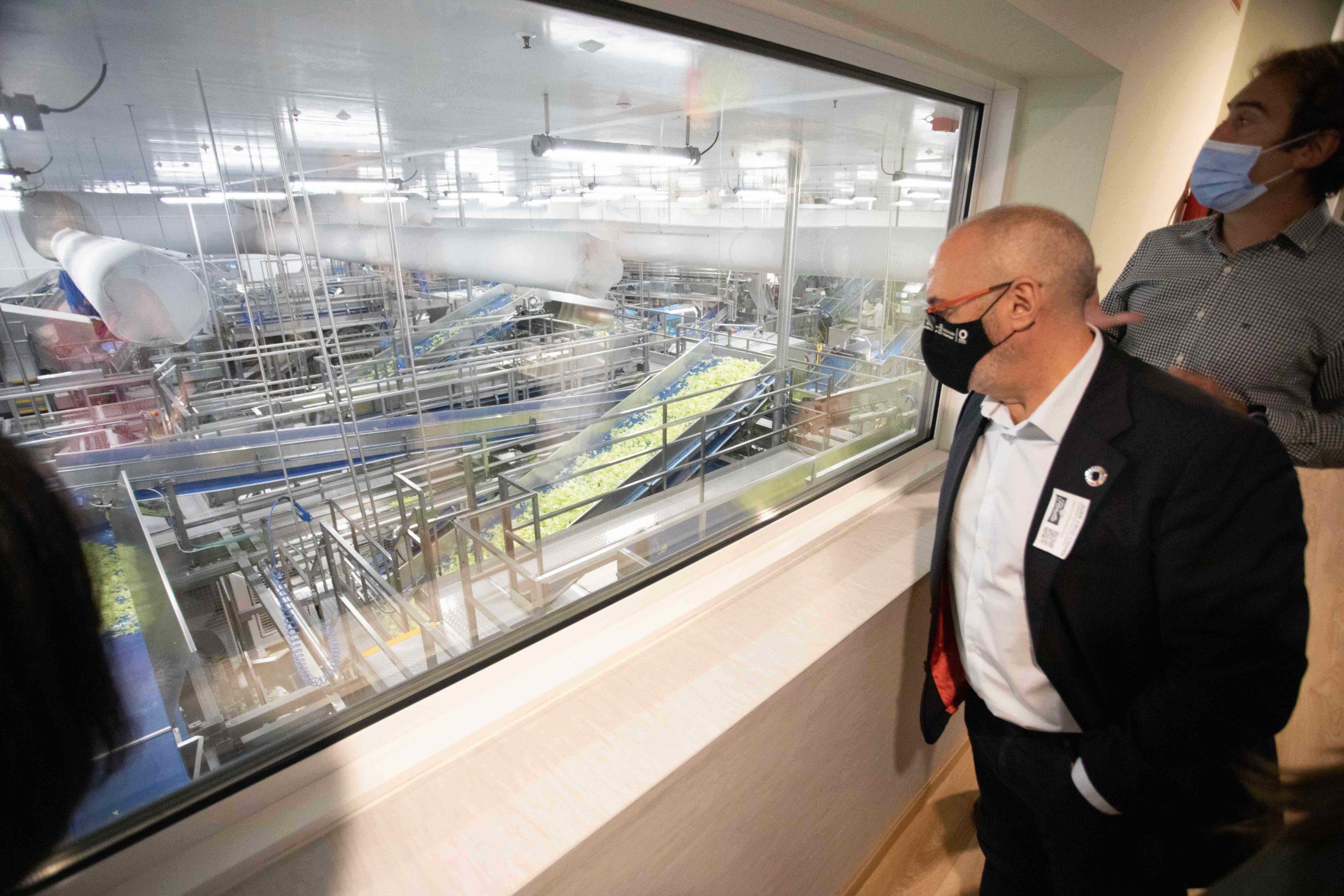 La Unidad de I+D+i de Florette, ejemplo de innovacion de la industria agroalimentaria en Navarra 2 (1)