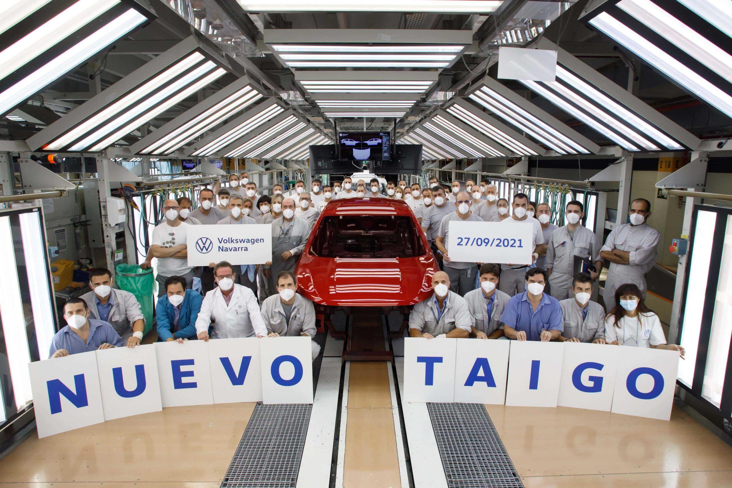 Volkswagen Navarra inicia la produccion en serie del nuevo Taigo en exclusiva para Europa 5