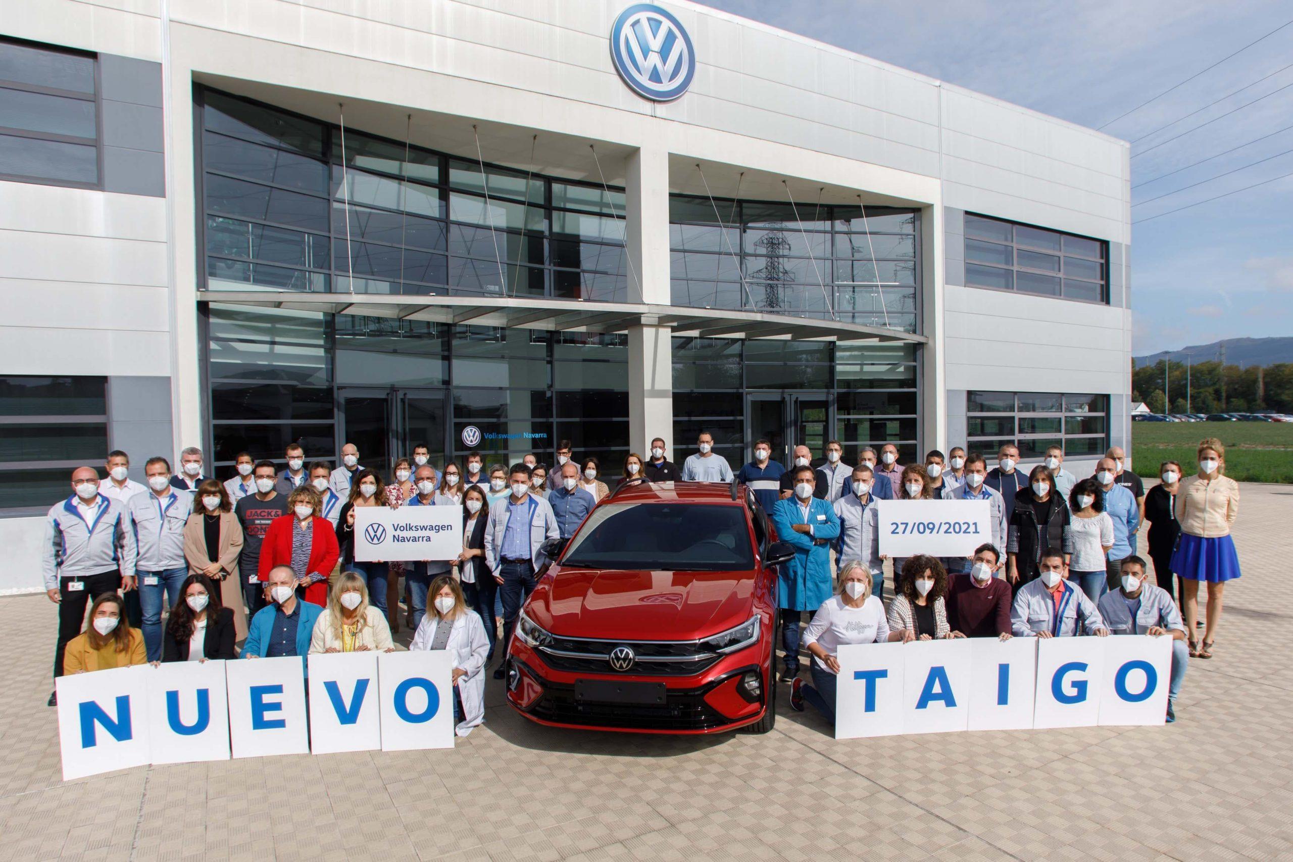 Volkswagen Navarra inicia la produccion en serie del nuevo Taigo en exclusiva para Europa 9